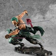 Hot Selling One Piece 18cm Anime Figure Roronoa Zoro 1/8 Three-blade Sa-maximum Ver. PVC Action Figure Collection Model Toys