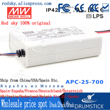 цена на [BSB0] Hot! MEAN WELL original APC-25-700 36V 700mA meanwell APC-25 36V 25.2W Single Output LED Switching Power Supply