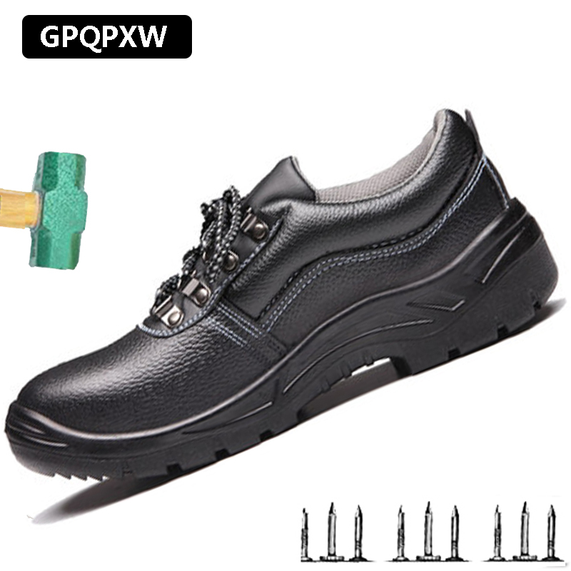 Men Work Shoes Safety Slip Resistant Toe Boots Anti-smashing Leisure Sneakers