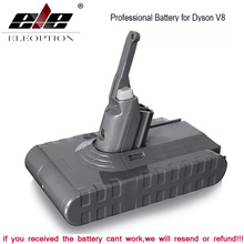 3500mAh 21.6V Battery For Dyson V8 for Absolute /Fluffy/Animal/ Li-ion Vacuum Cleaner rechargeable &3.0