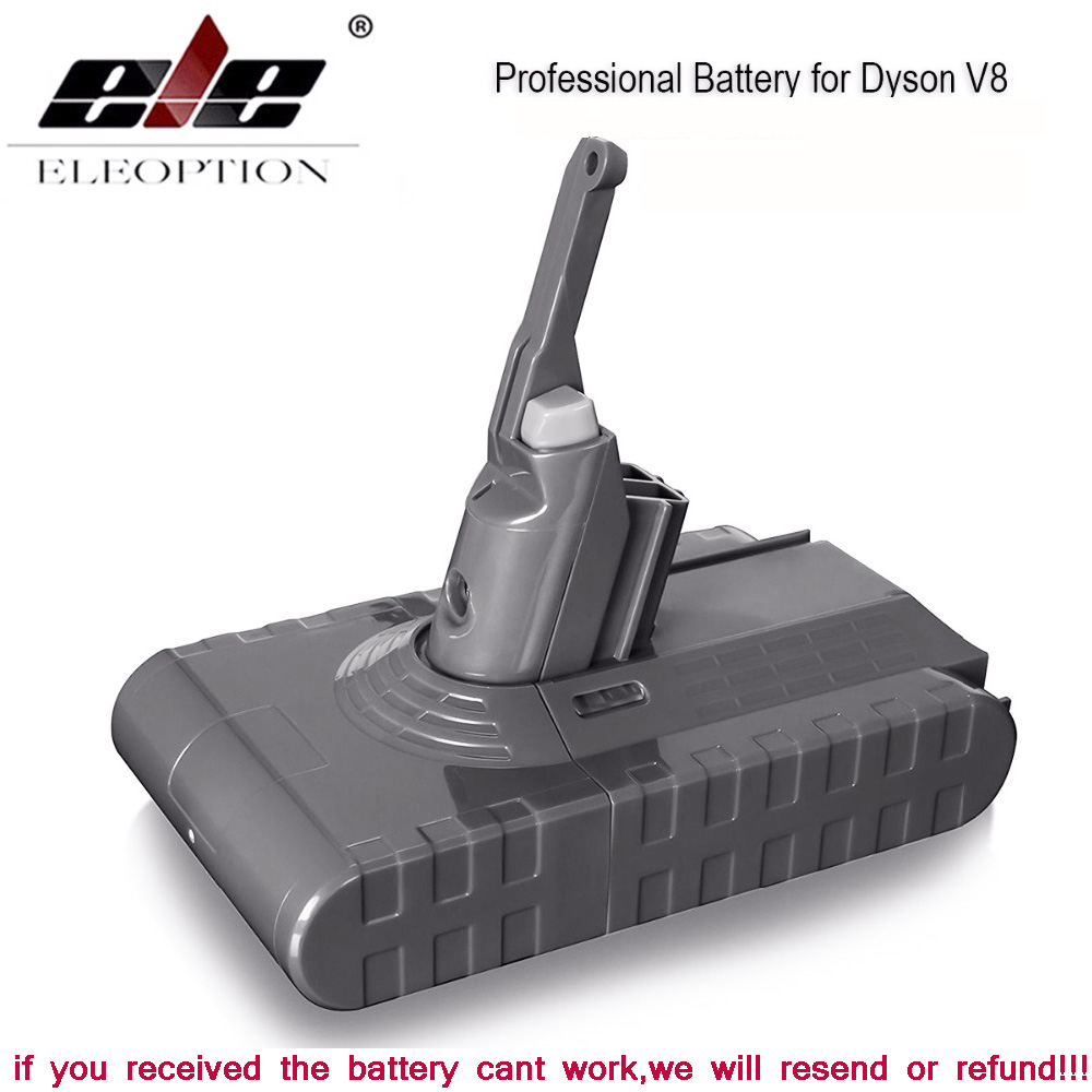 3500mAh 21.6V batterie pour Dyson V8 batterie pour Dyson V8 absolu/moelleux/Animal/Li-ion aspirateur batterie rechargeable & 3.0