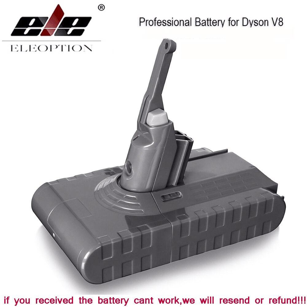 3500mAh 21.6V batterie pour Dyson V8 batterie pour Dyson V8 absolu/moelleux/Animal/Li-ion aspirateur batterie rechargeable & 3.0