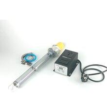 """Набор 220 В/3000 Вт нано-Кварцевый Электрический нагреватель с 4000 Вт регулятором напряжения, """" OD64мм зажим. Дистилляция, нагреватель для пива"""