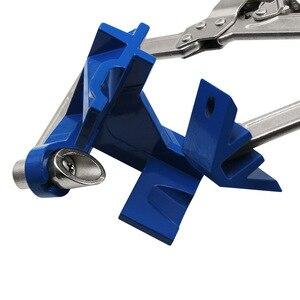 Image 3 - Houtbewerking quick Tang klem haakse clip spalk 90 graden clip T clamp extra armatuur Bevestigingsclip houtbewerking DIY tool