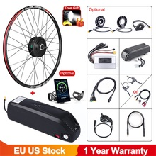 Conversion-Kit Hub-Motor-Wheel Ebike Electric Bicycle Front 700C 48v 500w Lithium-Battery