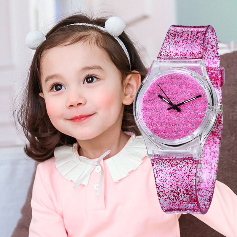 Kids Watches In Children's Watches Girls Watches Kids Analog Quartz Cute Selicone Clock Montre Enfant Fille Princesse