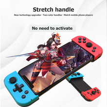 X6 Bluetooth 4.0 Telescopic Game Controller for PUBG Mobile Wireless Gamepad for iPhone