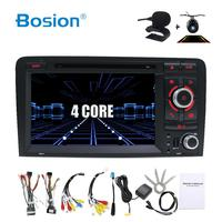 4/6 Core Android 10 Car DVD GPS For Audi A3 2006 2011 with DVD Player Radio Stereo Audio Auto Multimedia Screen Navigation BT