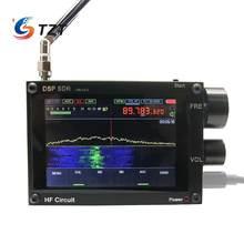 3,5 дюйма 50 кГц-2 ГГц Малахитовый DSP sdr-приемника Malahit SDR коротковолновый радиоприемник приятный звук двух Динамик AM боковая полоса (SSB) пена для ...
