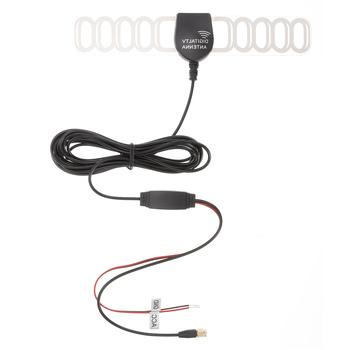 T200 antena samochodowa Dash DVD F typ IEC SMA wtyczka analogowy Tuner cyfrowa antena telewizyjna antena DVB-T ISDB-T antena dekodera antena tanie i dobre opinie Onever CN (pochodzenie) 370X22X1cm brass+ABS+PVC RF amplifier Easy Installation Invisible Built-in Amplifier Car TV Signal