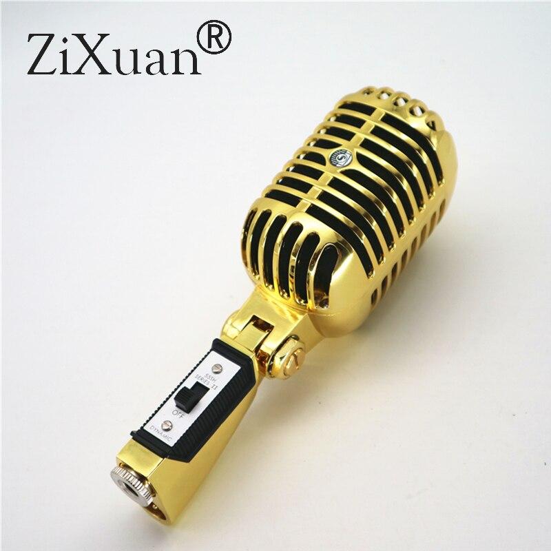 Micro Vocal professionnel de luxe en métal 55SH II micro Vocal classique de Style Vintage micro 55 SH série II
