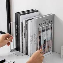 1 пара креативных линейных серий Простая подставка для книг