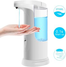 Intelligent Automatic Liquid Soap Dispenser Induction Foaming Hand Washing Device for Kitchen Bathroom (Without Liquid)