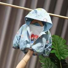 Демисезонные куртки для мальчиков Детское пальто детская одежда