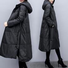 Cloak Hooded-Jackets Oversized Winter Coats Parkas Down Female Warm Women's Cotton Thick