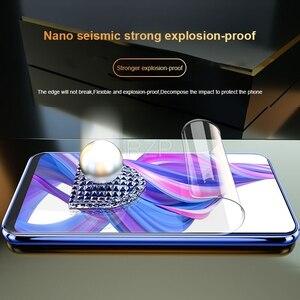 Image 3 - RZP מלא כיסוי מסך מגן עבור Huawei Honor 9X פרו 9i 10 לייט 20 פרו V20 20i הידרוג ל סרט עבור כבוד 10 9 לייט TPU סרט PET