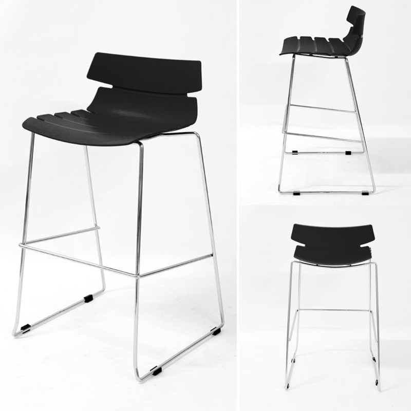 Bar Chair Simple Modern Casual Iron Creative Creative Design Bar Stool European High Stool Household Commercial Adult