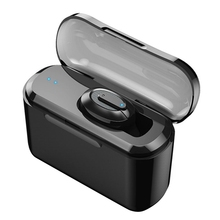 T1 Wireless Bluetooth Invisible Headphones Single Ear 4.2 Edr Mini Headset With Charging Box