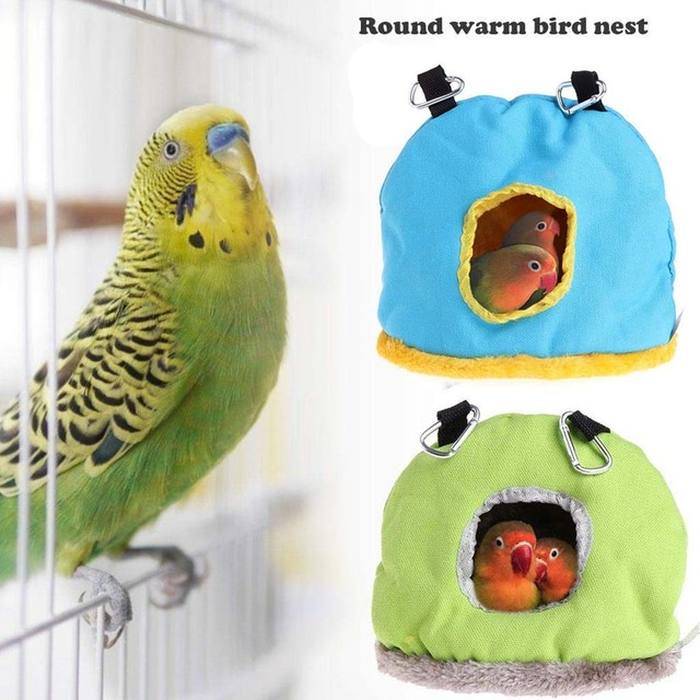 Colorful Comfortable Parakeet Hut 1
