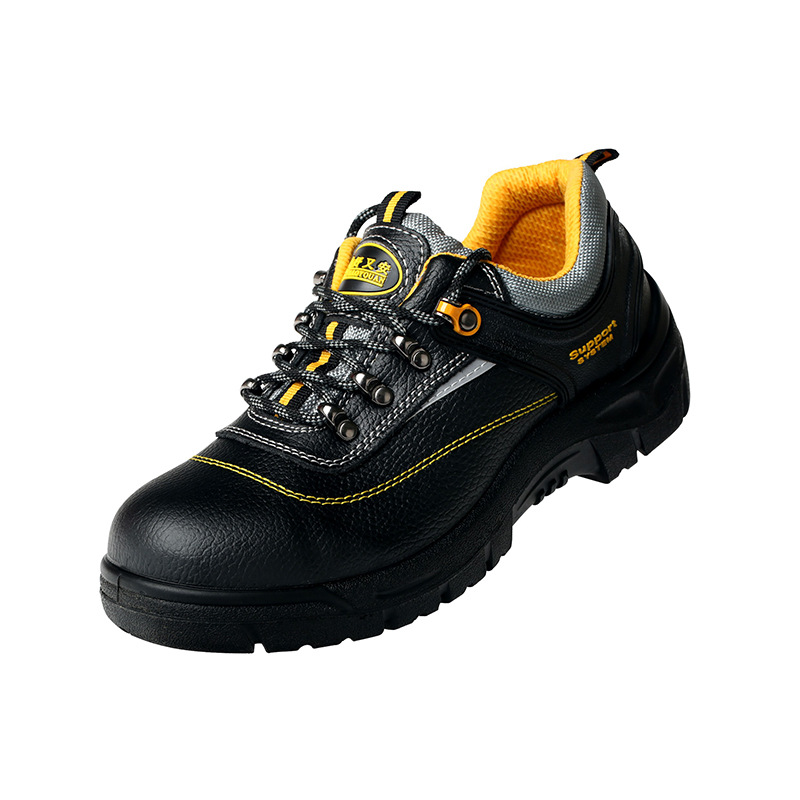 Good Settled 1062 Safety Shoes Men's Lightweight Safety Shoes Steel Head Anti-smashing And Anti-penetration Breathable Casual Ol