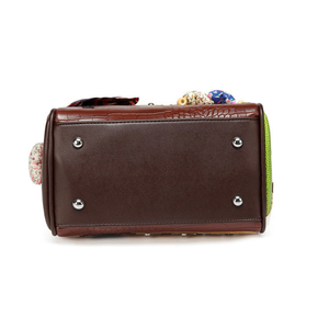 Image 4 - IPinee Mode Frauen Schulter Tasche Italien Braccialini Handtasche Stil Retro Handgemachte Stilvolle Frau Messenger Taschen