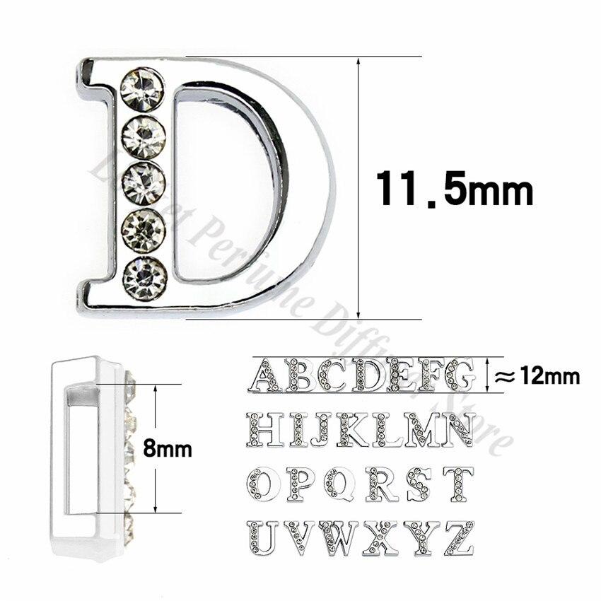 8mm-铬色半钻白钻-字母穿戴-尺寸整体图