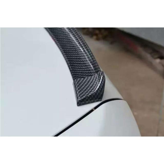 Accessoires de voiture en Fiber de carbone   Faux becquet de coffre arrière et pare-choc avant pour audi A4 B6 B7 B8 B9