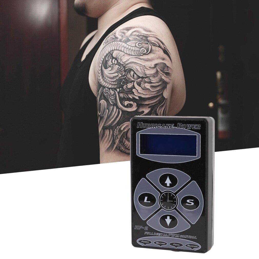Tatouage professionnel ouragan HP-2 affichage numérique Machines d'alimentation outils accessoires de tatouage