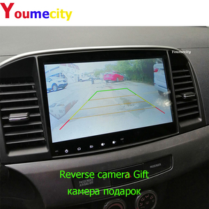 Image 5 - Youmecity Android 9.0 2DIN Car DVD GPS For MITSUBISHI LANCER 2008 2016 Headunit Video Player Wifi Radio Stereo RDS BT USB 4GRAM