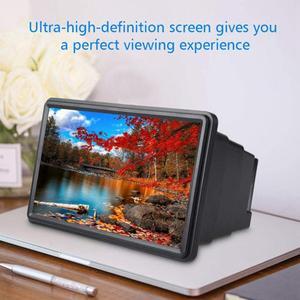 Soporte de amplificación estereoscópico HD para teléfono móvil, lupa de pantalla 3D para teléfono inteligente, amplificador Universal para películas y vídeos de escritorio