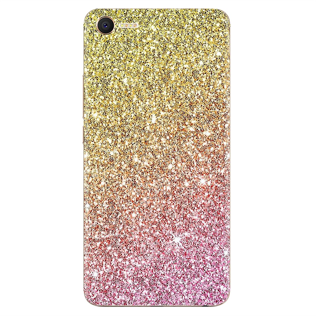 For Huawei Nova 2 3 2i 3i Y6 Y7 Y9 Prime Pro GR3 GR5 2017 2018 2019 Y5II Y6II Pink gold glitter sparkles Buy Silicone Phone Case(China)