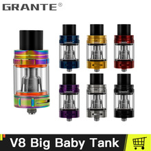 100% Original Grante V8 Big Baby Atomizer With 5ml Top Filling For V8 Big Baby Beast Tank Fit G-Priv Alien Vape Mod Ecigs 100% original smok tfv8 big baby beast tank atomizer 2ml eu version w v8 baby q2 eu core top refill system 0 4ohm vs tfv12