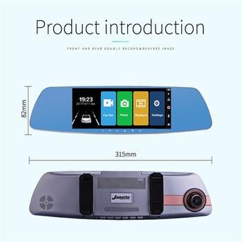 "Smart 1080P Full HD Dash Camera International Version Night Vision HD 1080P 7"" 140 degree Safe Reminder Dashboard Camera"