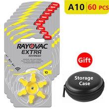 Батареи слухового аппарата Размер 10 za rayovac Экстра расширенный
