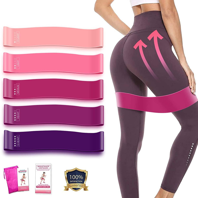 Treinamento de fitness exercício ginásio resistência faixas de loop para pernas e bunda pilates esporte yoga crossfit treino equipamentos