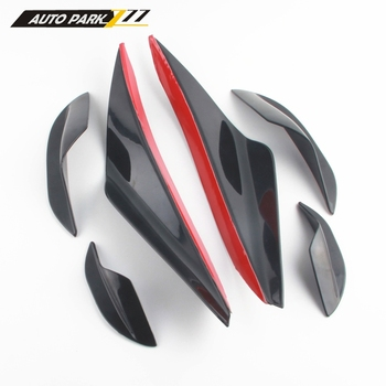 Front Bumper Lip Car Sticker Body Kit Spoiler Bumpers Car Styling Accessorie Diffuser Splitter for BMW E46 E90 3 Series qt3023 image