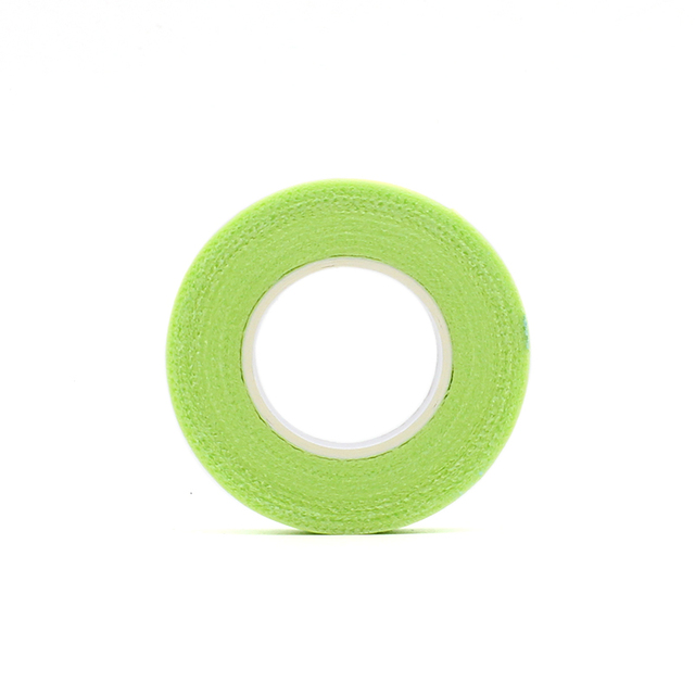 2019 New Japanese grafted eyelash isolation tape with holes breathable comfortable sensitive resistant Green eye pad 4