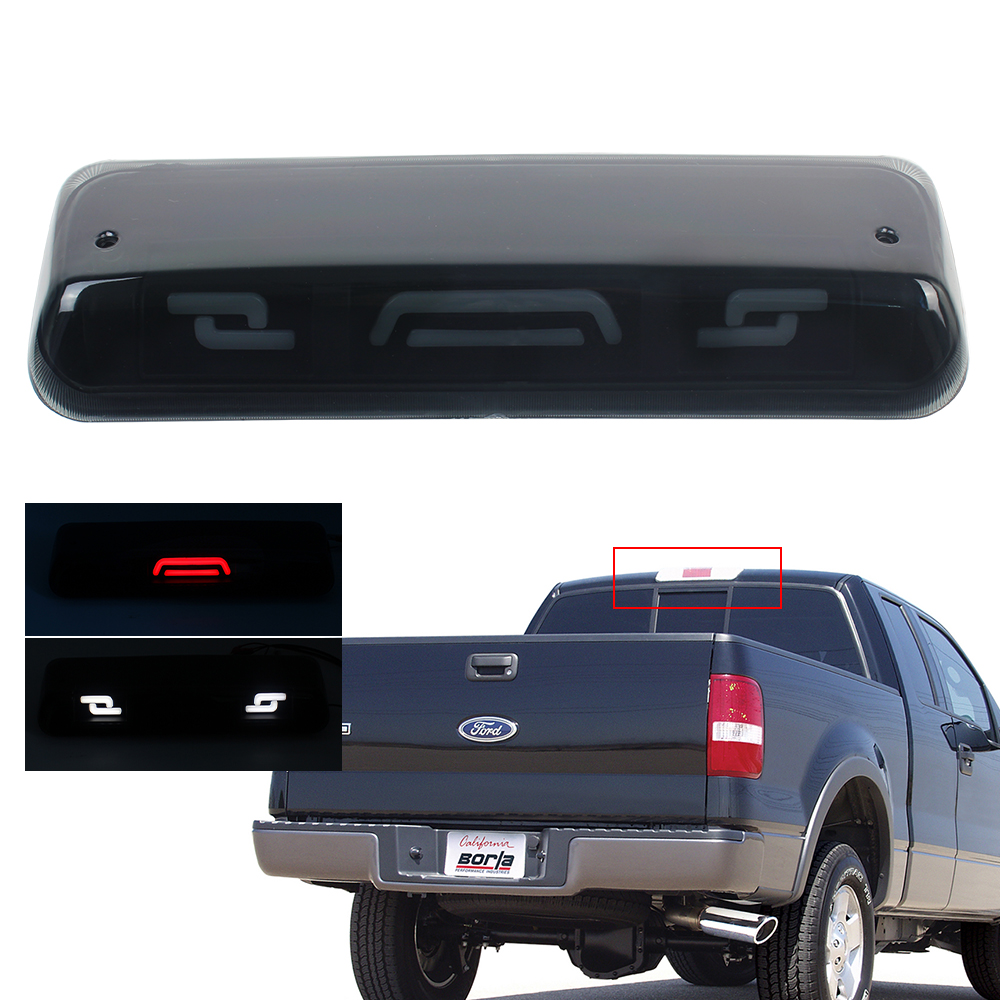 For Ford F150 2004-2008 LED Red Rear 3rd Third Stop Brake Tail Light Cargo Lamp