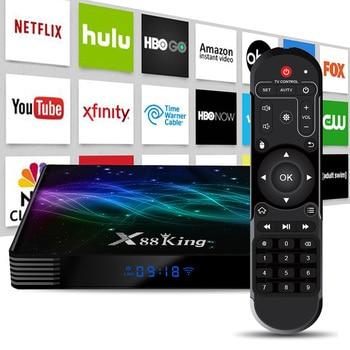 Smart TV Box S922X Hexa-core Mali-G52 MP6 GPU DDR4 128G Android 9.0 9 Bluetooth 5.0 2.4G 5G AP6256 Set Top Box