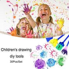 """""""Сделай сам"""" для детей Картина поролонная Губка кисти"""