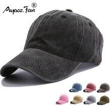 Lisa, primavera verano tapa coleta mujer gorra de béisbol de moda de los hombres sombreros gorra de béisbol de algodón al aire libre Simple vintage visera gorra Casual de