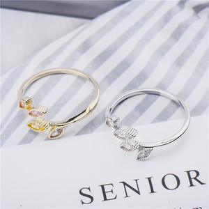 Image 3 - Rings For Women Females Jewelry Accessory Bridal Wedding Engagement Promise Gift Adjustable 2020 New Design Gold Silver Color
