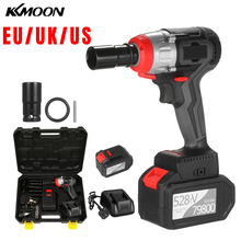 Impact-Wrench Brushless-Motor Speed-Impact-Kit Quick-Chuck Torque Fast-Charger Cordless