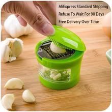 Chopper Slicer Crusher Kitchen-Accessories-Tool Garlic Grater Hand-Presser Grinder Stainless-Steel