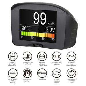 Image 5 - AUTOOL pantalla HUD X60 X50 Pro para coche, detección de fallos, indicador de presión de combustible, voltímetro, Temperatu