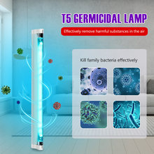220V T5 6W 8W Buis Uvc Sterilisator Desinfection Lamp UV-C Ultraviolet Quartz Led Uv Kiemdodende Lamp Bacteriedodende deodor Schone Lucht(China)