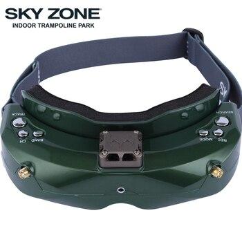 SKYZONE SKY02C/SKY02X 48CH 5,8 Ghz FPV gafas de apoyo 2D/3D HDMI Seguimiento de cabeza con ventilador DVR cámara para RC avión de carreras de FPV Drone