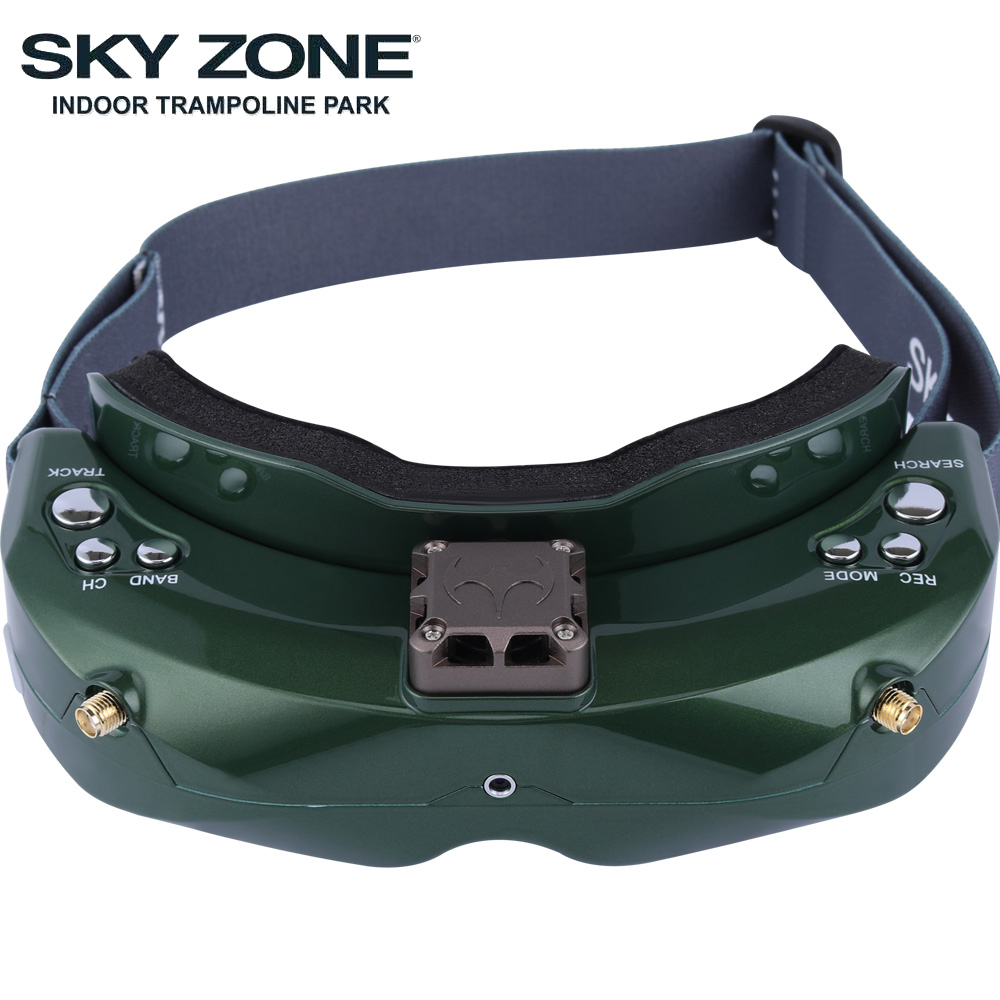 Image 5 - SKYZONE SKY02C/SKY02X 5.8Ghz 48CH FPV Goggles Support 2D/3D HDMI Head Tracking With Fan DVR Camera For RC Plane Racing FPV DroneParts & Accessories   -