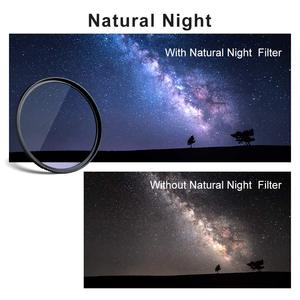 Image 5 - K&F Concept 52/58/67/72/77/82mm Clear Night Filter Multiple Layer Nano Coating Pollution Reduction for Night Sky/Star