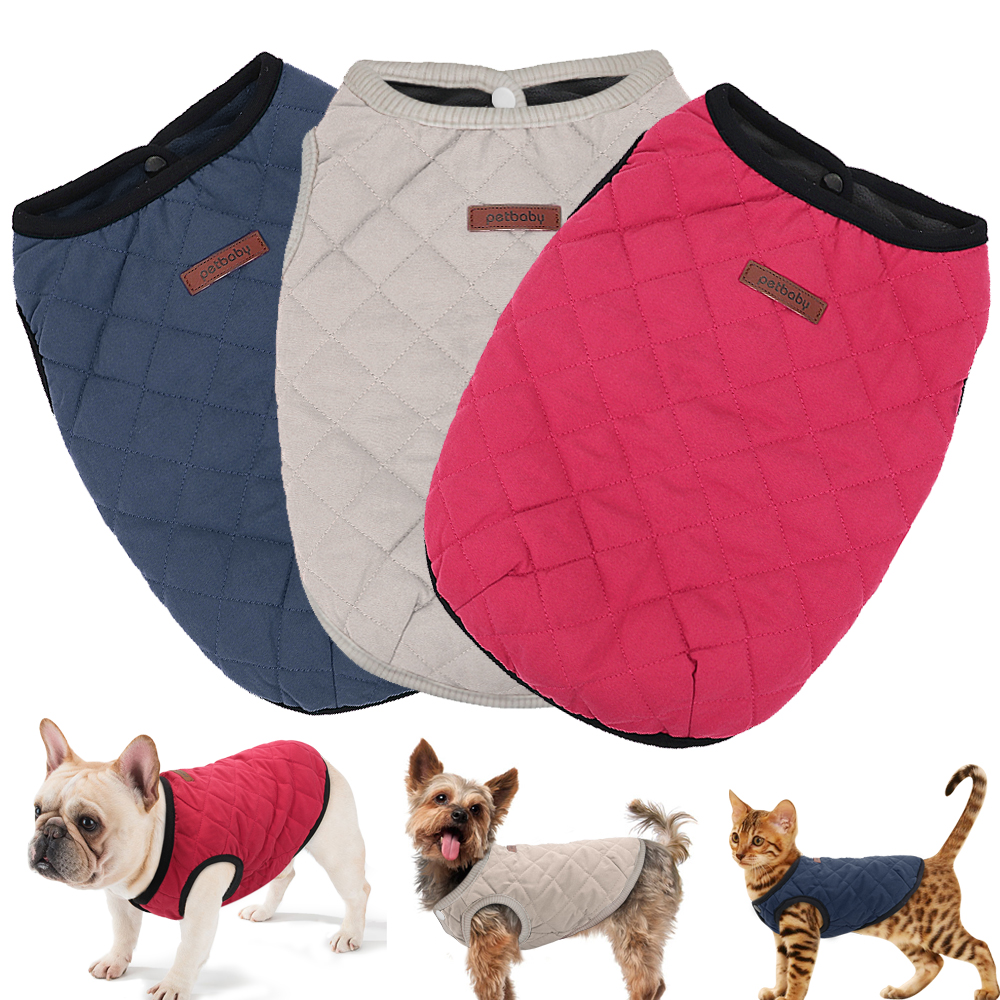 Wind-Proof Winter Dog Jacket Made with Soft Polyester material for Small/Large Dogs 8
